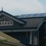 solar panels on alabang hills roof