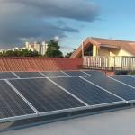 Fort Bonifacio, Taguig solar installation 3kW roofdeck