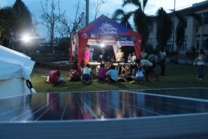 Solar Lights during Yolanda Typhoon Haiyan