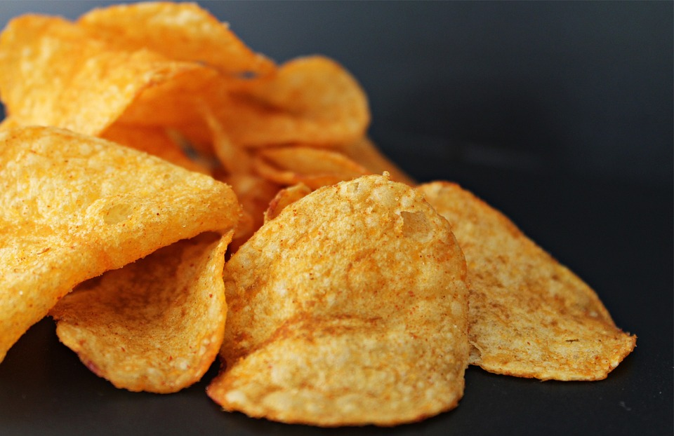 Potato Chips Containing BHA (Butylated Hydroxyanisole) and BHT (Butylated Hydroxytoluene)