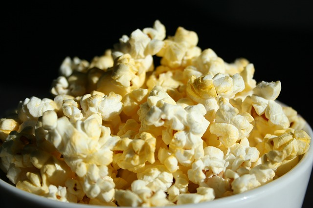 Popcorn Containing Sodium Aluminum Sulphate and Potassium Aluminum Sulphate