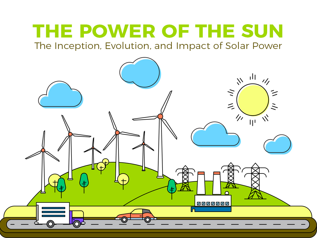 The Power of the Sun: The Inception, Evolution, and Impact of Solar Power