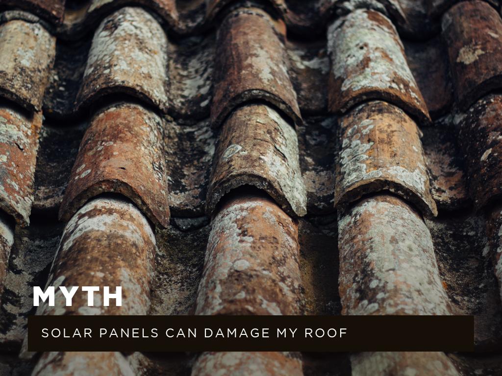 Myth #7: Solar panels can damage my roof
