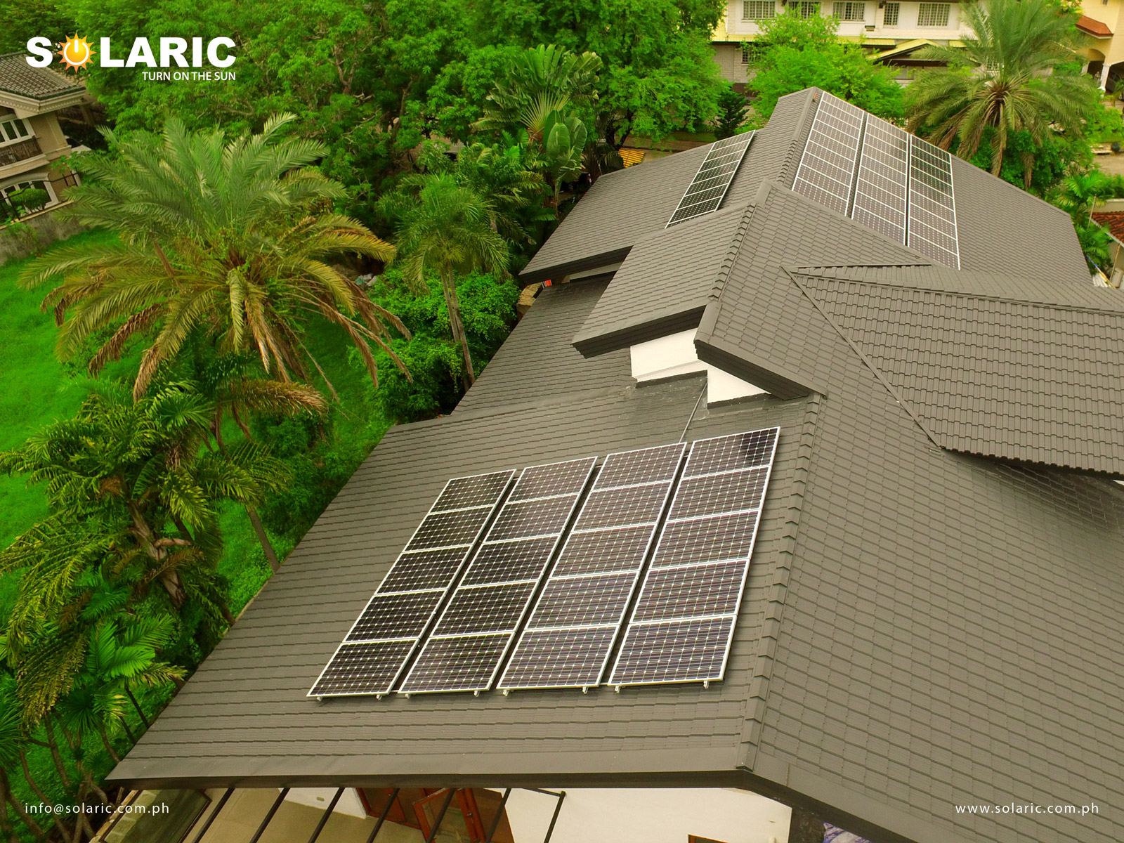 Home designs with solar panel prices in the philippines for Solar powered home designs