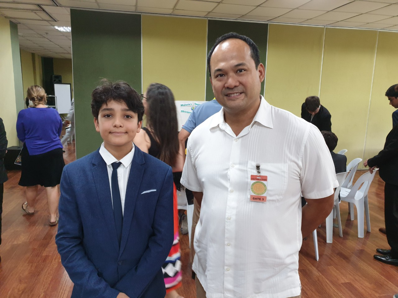 SOLARIC PRESIDENT VISITS AN EIGHTH GRADER AT INTERNATIONAL SCHOOL MANILA