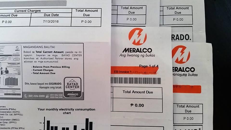 Zero electricity bill