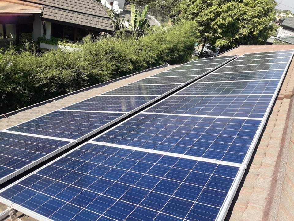 Clean and maintained solar panels