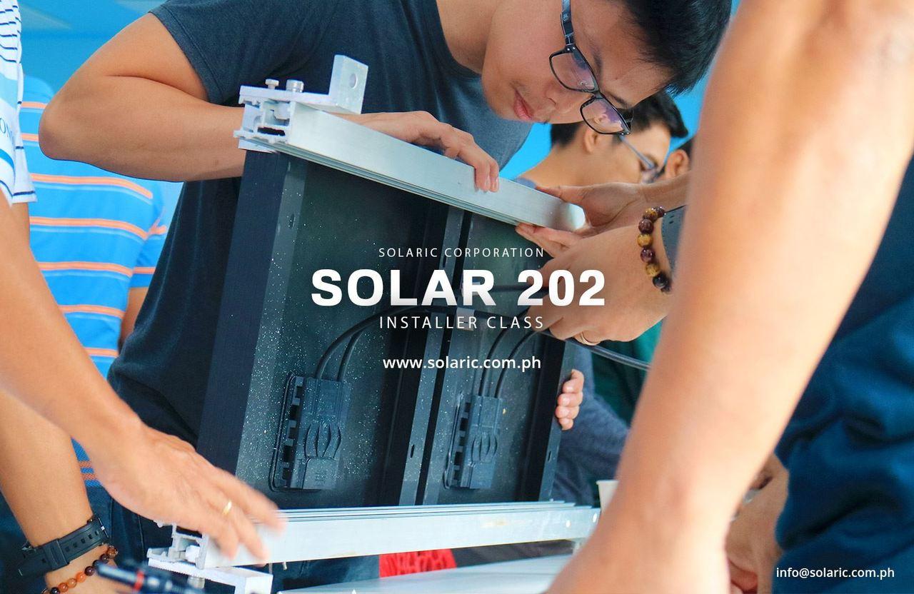 Solaric's Solar Installation Class