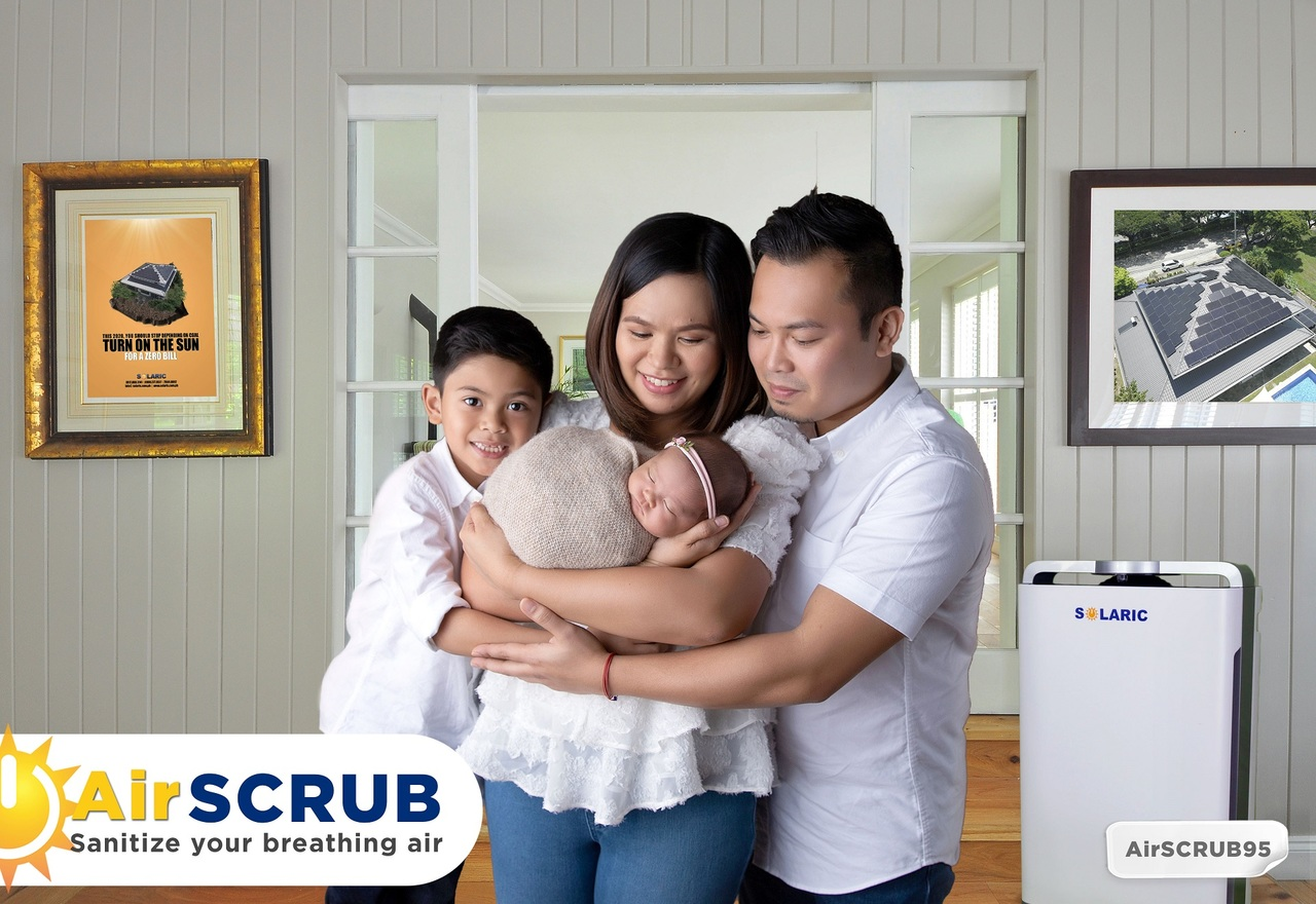 A family who invested in Solaric's AirSCRUB