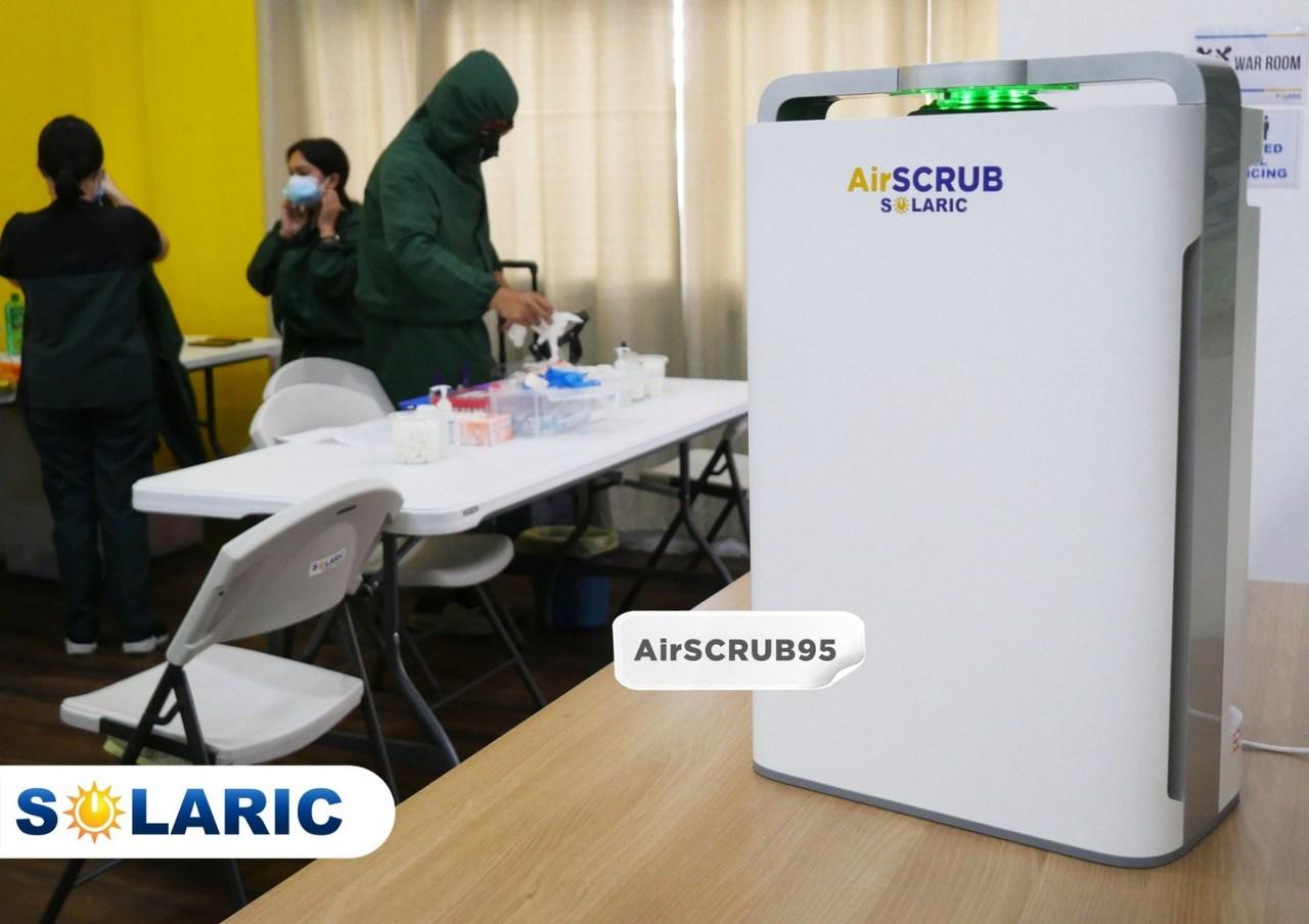 Solaric's AirSCRUB