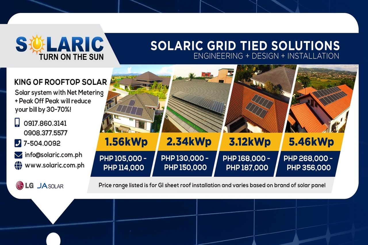 Prices of more affordable solar grids by Solaric