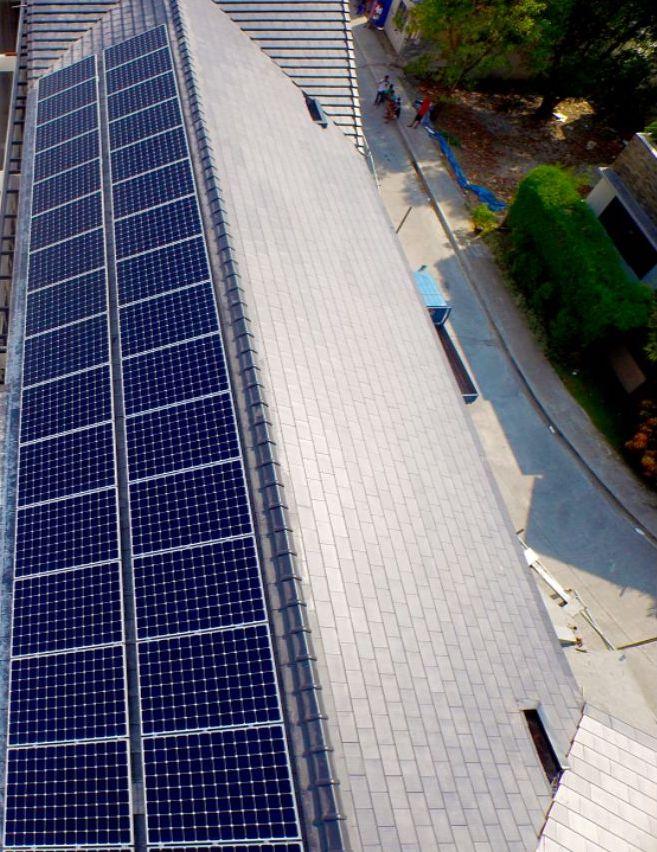 Organized solar grids
