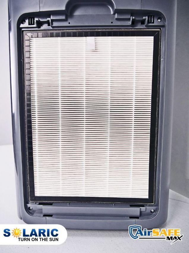 HEPA filter inside an air purifier