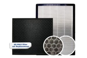 Close up of hepa filter