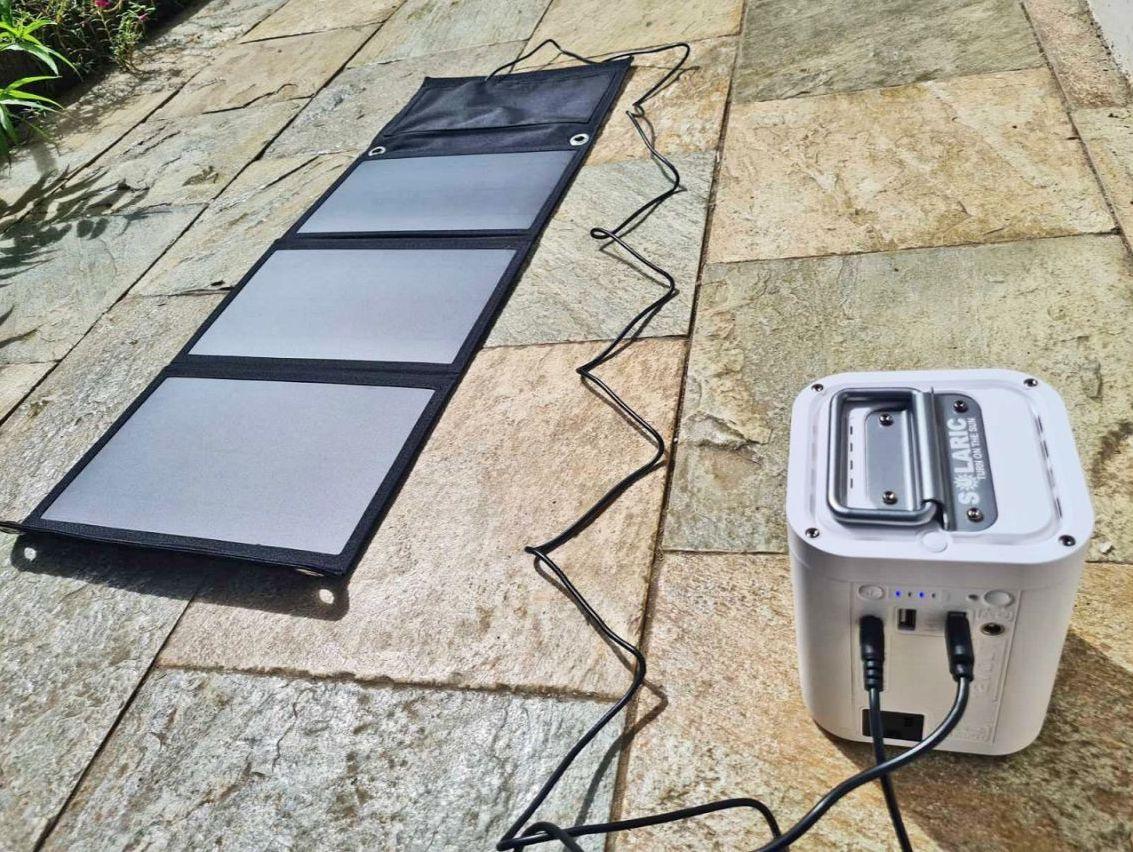 Charging solarbox