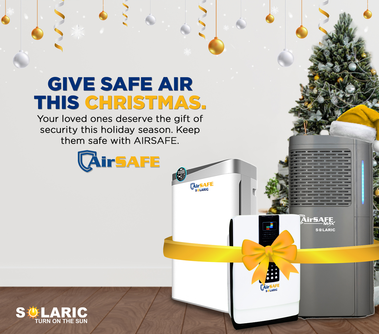 AIRSAFE FOR CHRISTMAS