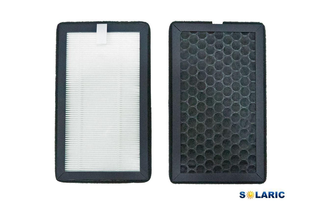 HEPA filter on fan