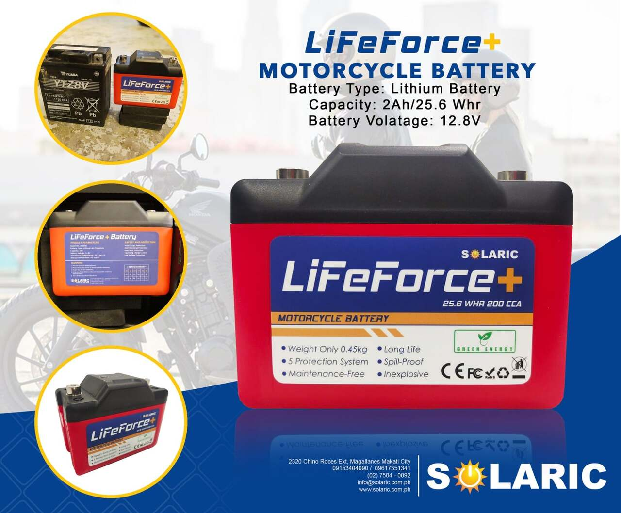 The LiFe-Force Battery