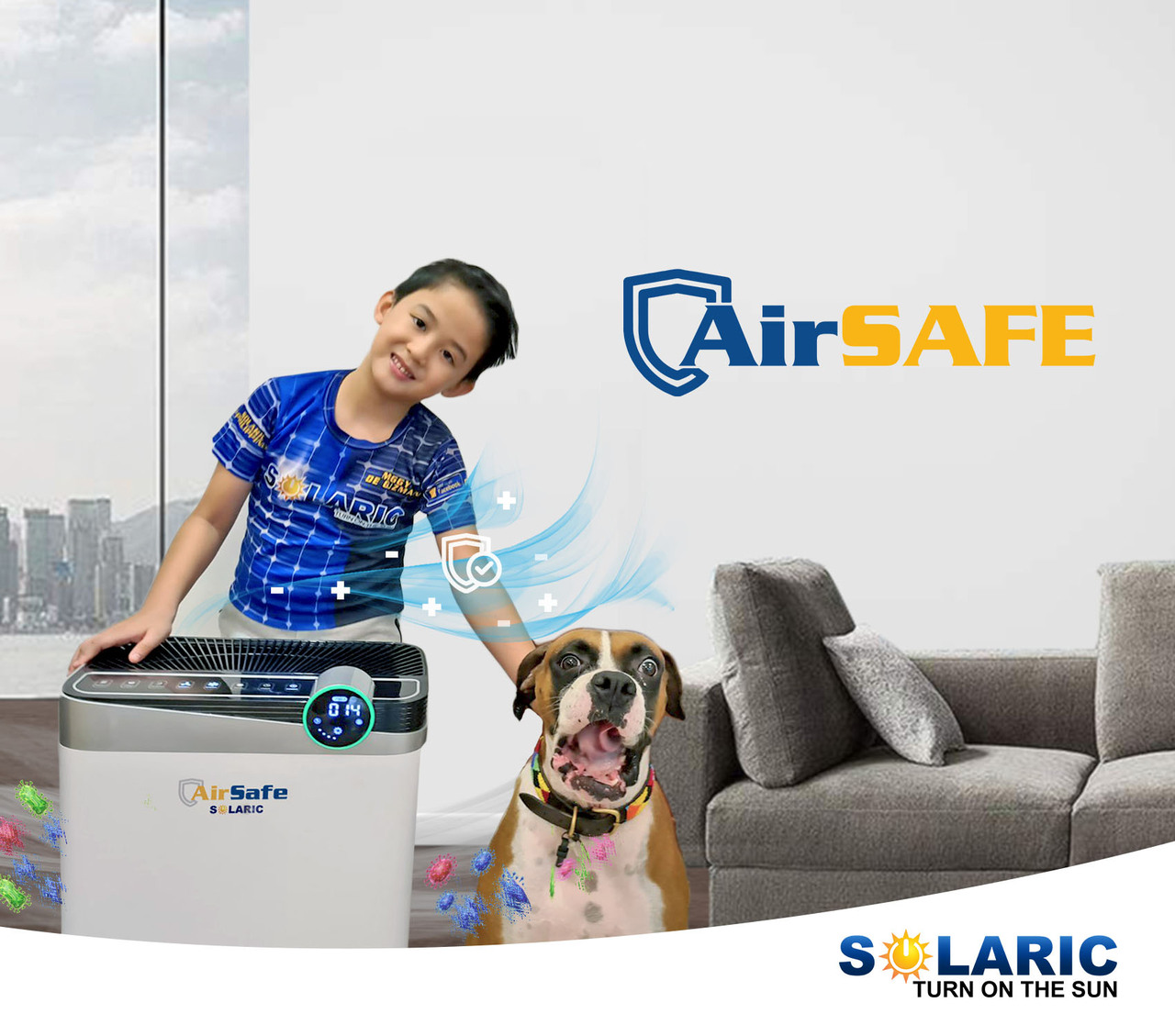 COVID-19 IS AIRBORNE: BE SAFE WITH #AIRSAFE