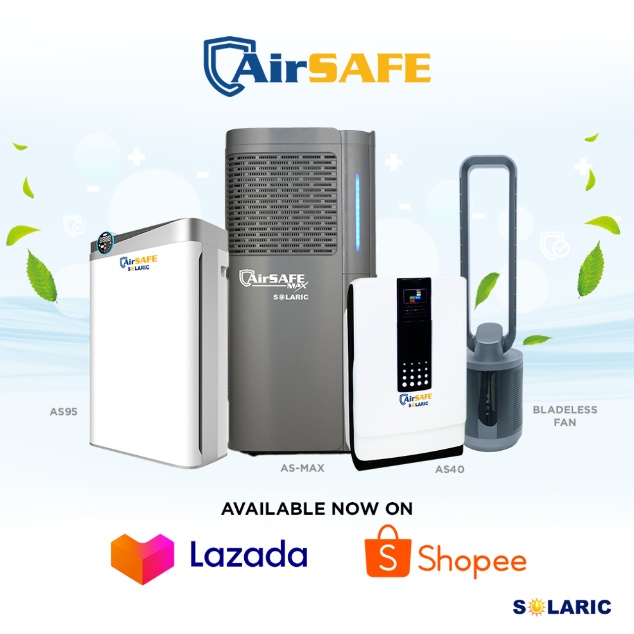 Solaric tip: Enjoy AirSAFE in lowest prices on our sale!