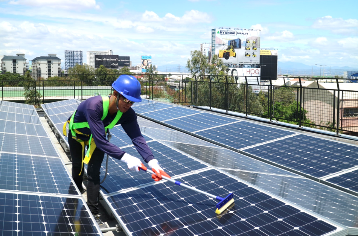 SOLAR CLEANING AND MAINTENANCE